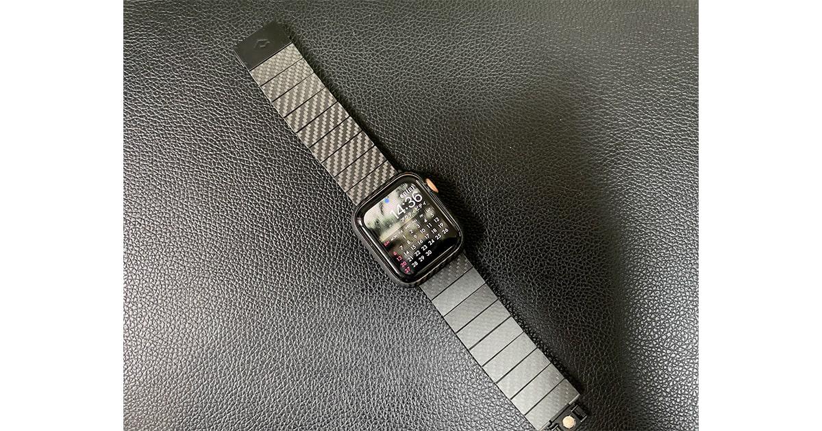 「PITAKA」カーボン製 Watch Band レビュー!Apple Watchを10倍カッコよくするバンド