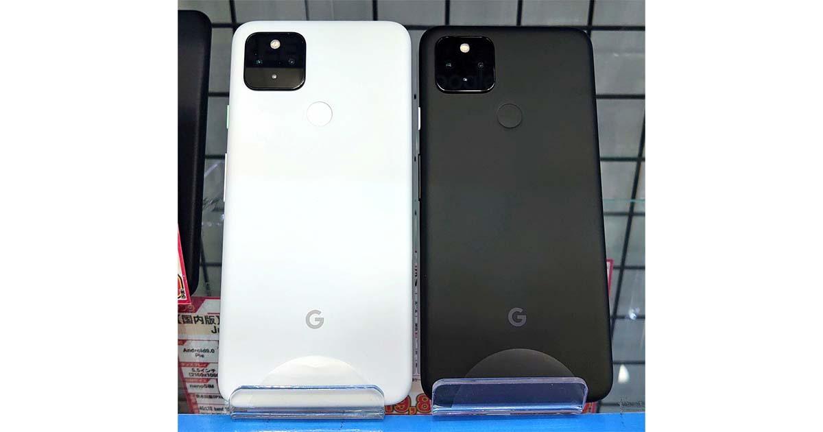 Google Photoが無制限で使える!Google Pixel 4a 5G SIMフリー、未使用品 45,800 円の特価