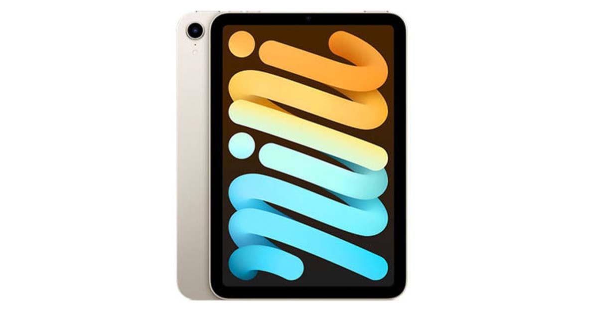 品薄の新品iPad mini6がイオシスに入荷。人気のセルラーモデルもあり