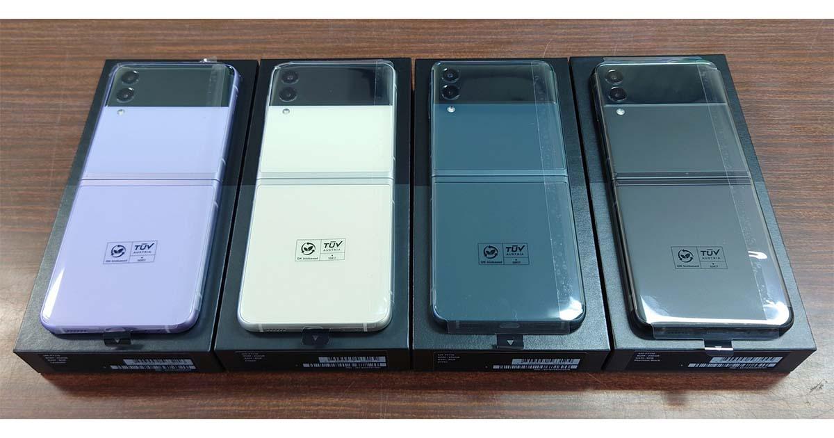 Galaxy Z Flip3 5G香港版がイオシスで129,800円で販売開始